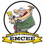 WORLDS GREATEST EMCEE MEN CARTOON CUT OUTS