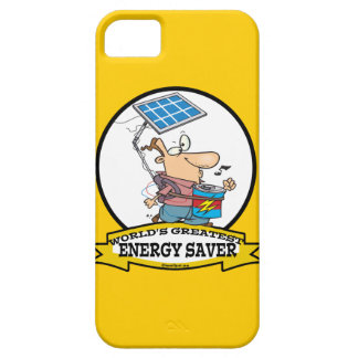 WORLDS GREATEST ENERGY SAVER MEN CARTOON iPhone 5 COVERS