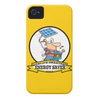 WORLDS GREATEST ENERGY SAVER MEN CARTOON Case-Mate iPhone 4 CASE