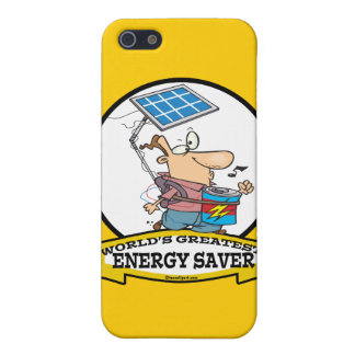 WORLDS GREATEST ENERGY SAVER MEN CARTOON iPhone 5 COVER