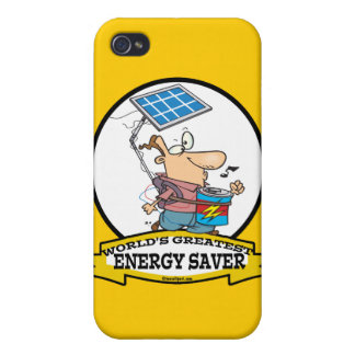 WORLDS GREATEST ENERGY SAVER MEN CARTOON CASE FOR iPhone 4