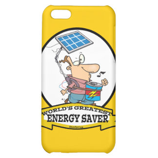 WORLDS GREATEST ENERGY SAVER MEN CARTOON CASE FOR iPhone 5C