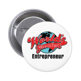 Worlds Greatest Entrepreneur Buttons