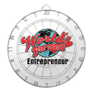Worlds Greatest Entrepreneur Dart Board