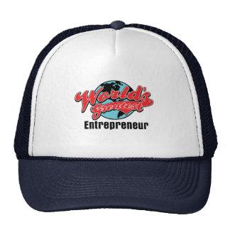 Worlds Greatest Entrepreneur Mesh Hats