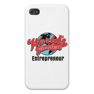 Worlds Greatest Entrepreneur Covers For iPhone 4