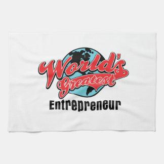 Worlds Greatest Entrepreneur Towels