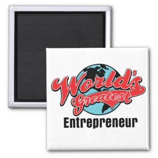 Worlds Greatest Entrepreneur Fridge Magnets