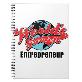 Worlds Greatest Entrepreneur Notebooks
