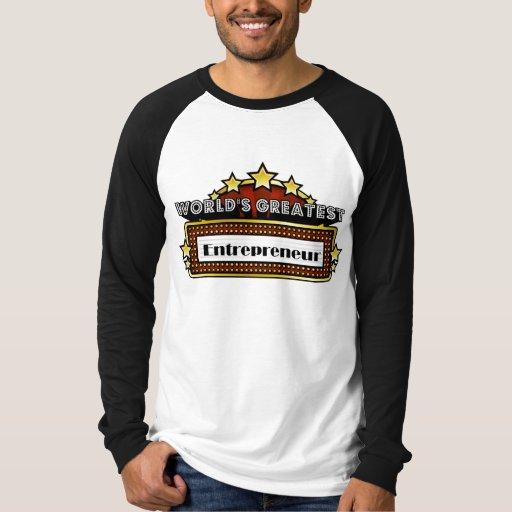 World's Greatest Entrepreneur Tshirts
