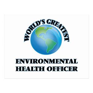 World's Greatest Environmental Health Officer Postcard