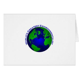 World's Greatest Environmentalist Card