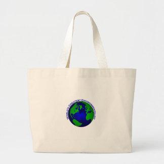 World's Greatest Environmentalist Jumbo Tote Bag