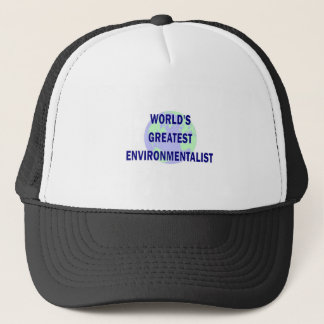 World's Greatest Environmentalist Trucker Hat