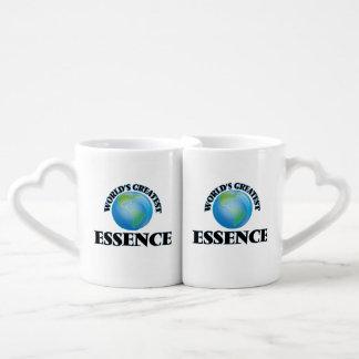 World's Greatest Essence Couples' Coffee Mug Set