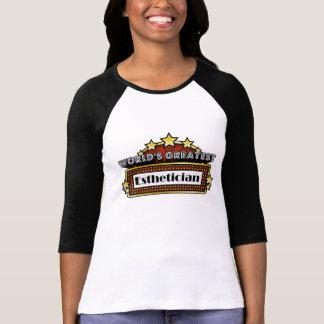 World's Greatest Esthetician T-shirt