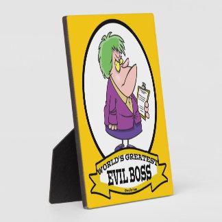 Best Boss Photo Plaques | Zazzle
