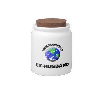 World's Greatest Ex-Husband Candy Dish