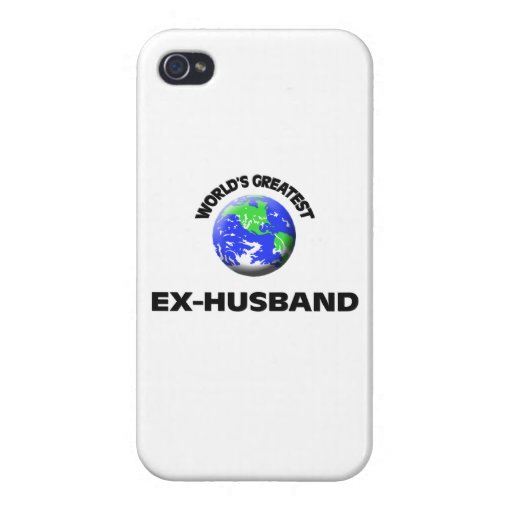 World's Greatest Ex-Husband Cover For iPhone 4