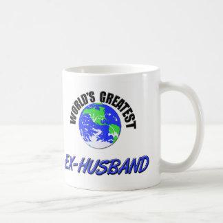 World's Greatest Ex-Husband Coffee Mugs