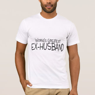 Worlds Greatest Ex Husband T-Shirt