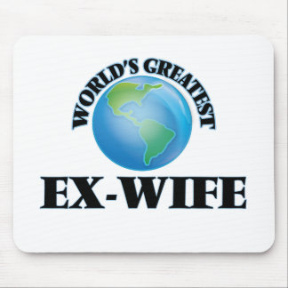 World's Greatest Ex-Wife Mousepad
