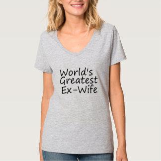 Worlds Greatest Ex-Wife Tshirt