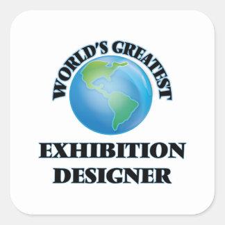 World's Greatest Exhibition Designer Square Sticker
