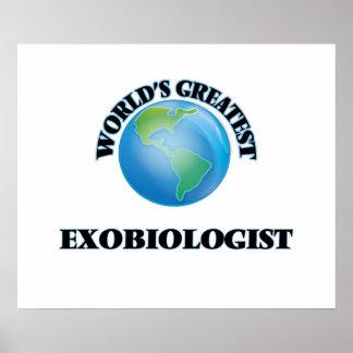 World's Greatest Exobiologist Poster