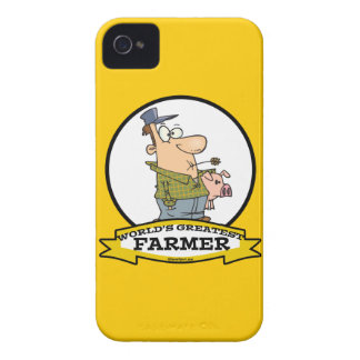 WORLDS GREATEST FARMER CARTOON iPhone 4 COVER