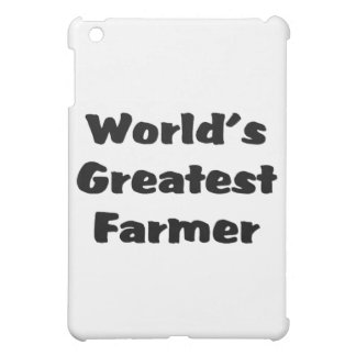 World's greatest farmer case for the iPad mini