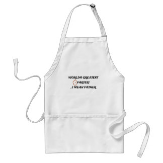 Worlds Greatest Farter Adult Apron