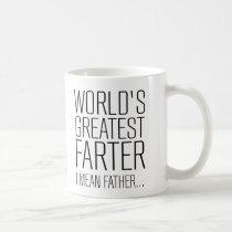 World's Greatest Farter Coffee Mug