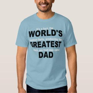 World's Greatest Farter...DAD Tshirts