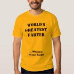 WORLD'S GREATEST FARTER SHIRT