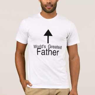 Worlds Greatest Father Arrow T-Shirt