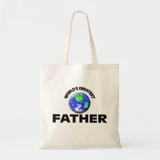 World's Greatest Father Canvas Bag
