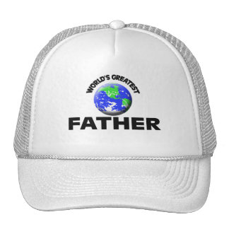 World's Greatest Father Mesh Hats