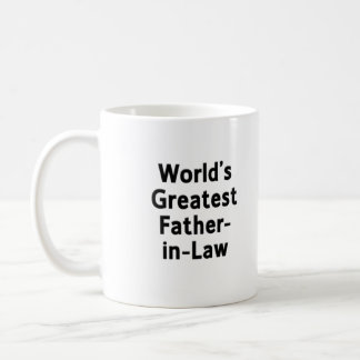 World's Greatest Father-in-Law Mug