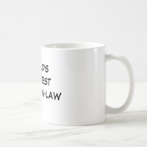 """""""World's Greatest Father-in-Law""""  Mug"""