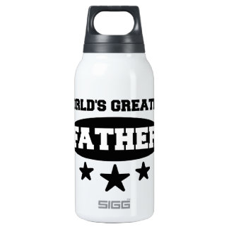 World's Greatest Father Insulated Water Bottle