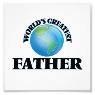 World's Greatest Father Photo Print