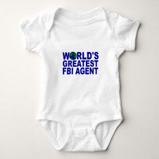 World's Greatest FBI Agent Baby Bodysuit