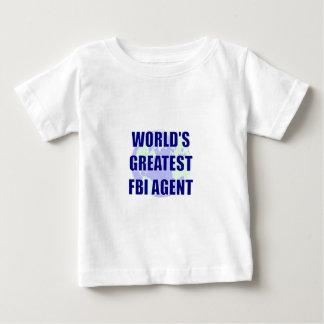 World's Greatest FBI Agent Baby T-Shirt