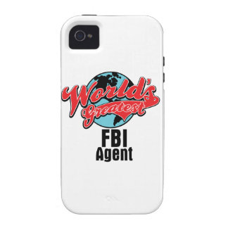 Worlds Greatest FBI Agent Case-Mate iPhone 4 Cases
