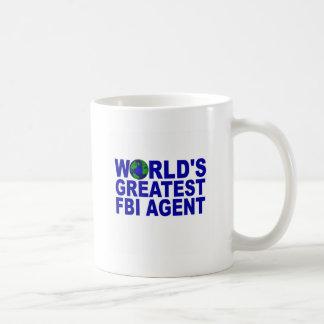 World's Greatest FBI Agent Coffee Mug