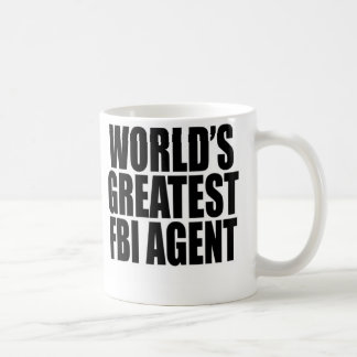 World's Greatest FBI Agent Coffee Mug