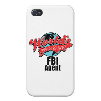 Worlds Greatest FBI Agent Cover For iPhone 4