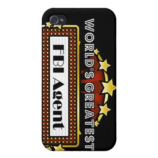 World's Greatest FBI Agent Covers For iPhone 4