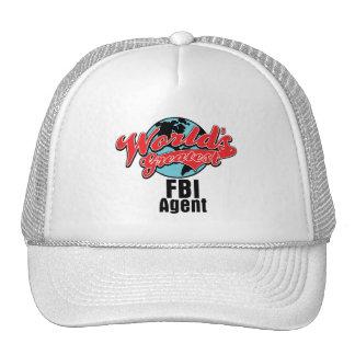 Worlds Greatest FBI Agent Hat